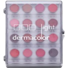 Kryolan Dermacolor Light paleta 16 odcieni szminek  11 g