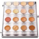 Kryolan Dermacolor Light Palette mit 16 Korrektorfarbtönen (Minipalette Foundation Cream) 20 ml