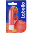 Labello Peach Shine balsam de buze colorat cu arome de piersici (Caring Lip Balm) 5,5 ml