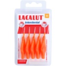Lacalut Interdental escovas interdentais com tampa 5 peças XS 2,0 mm Orange (Interdental Brushes)