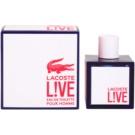 Lacoste Live Male Eau de Toilette para homens 100 ml