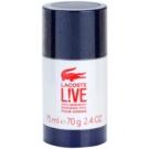 Lacoste Live Male deo-stik za moške 75 ml