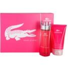 Lacoste Touch of Pink ajándékszett II. Eau de Toilette 90 ml + testápoló tej 150 ml