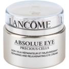 Lancôme Absolue Precious Cells regenerująca i odżywcza pielęgnacja okolic oczu  20 ml