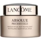Lancôme Absolue Precious Cells revitalisierende Maske für die Nacht zur Erneuerung der Haut  75 ml