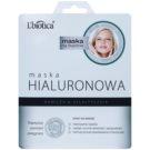 L'biotica Masks Hyaluronic Acid Moisturising and Smoothing Cloth Facial Mask (Paraben & SLS Free] 23 ml