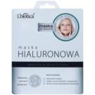 L'biotica Masks Hyaluronic Acid mascarilla hoja con efecto hidratante y alisante  23 ml