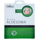 L'biotica Masks Aloe Vera masca pentru celule efect regenerator (Paraben & SLS Free) 23 ml
