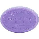 Le Chatelard 1802 Violet & Blackberry jabón natural francés redondo  100 g