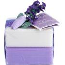 Le Chatelard 1802 Natural Soap luxusní francouzské přírodní mýdlo (Lavender + Jasmine) 2 x100 g