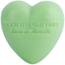 Le Chatelard 1802 Olive & Tilia Flowers Soap In Heart Shape  25 g