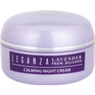 Leganza Lavender Soothing Night Cream (Special Selected Bulgarian Organic Lavender Oil) 45 ml