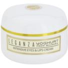 Leganza Yoghurt intenzivna krema za okoli oči in ustnic (Pm®Yoghurt Innovative Complex) 30 ml