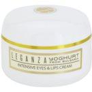 Leganza Yoghurt intenzivna krema za okoli oči in ustnic  30 ml