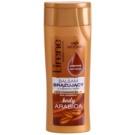 Lirene Body Arabica Bálsamo de autobronzeamento para corpo Cafe Mocha (Dark Complexion) 250 ml