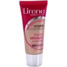 Lirene Complete Coverage покриващ крем с пудра ефект цвят 04 Sunny 30 мл.