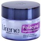 Lirene Folacyna 70+ нощен крем  за подновяване на кожните клетки  50 мл.