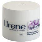 Lirene HyaluroMat crema de matifiere cu acid hialuronic matující krém s kyselinou hyaluronovou  SPF 6  50 ml