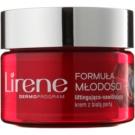 Lirene Youthful Formula 45+ Lifting-Tagescreme gegen Falten mit feuchtigkeitsspendender Wirkung SPF 10 (With White Pearl) 50 ml