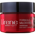 Lirene Youthful Formula 45+ crema de noapte revitalizanta antirid (With Black Pearl) 50 ml