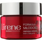 Lirene Youthful Formula 55+ Tightening Cream with Nutritious Effect SPF 15 (With White Pearl) 50 ml