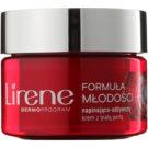 Lirene Youthful Formula 55+ crema pentru crapaturi cu efect de nutritiv SPF 15  50 ml