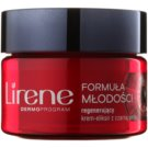 Lirene Youthful Formula 55+ crema regeneratoare de noapte anti-rid (With Black Pearl) 50 ml