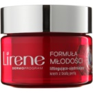 Lirene Youthful Formula 65+ Daily Firming Anti - Wrinkle Cream With Lifting Effect SPF 15 (With White Pearl) 50 ml