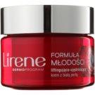 Lirene Youthful Formula 65+ crema de día antiarrugas reafirmante con efecto lifting SPF 15 (With White Pearl) 50 ml