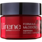 Lirene Youthful Formula 35+ krem wygładzający na noc przeciwzmarszczkowy  50 ml