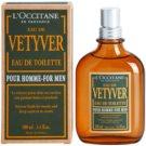 L'Occitane Eau de Vetyver pour homme Eau de Toilette für Herren 100 ml