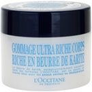 L'Occitane Karité gyengéd testpeeling (Ultra Rich Body Scrub) 200 ml