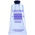 L'Occitane Lavande eine Crem zum Schutz von Händen und Nägeln mit Bambus Butter (Origin Lavender) 75 ml