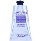 L'Occitane Lavande obnovujúci krém na ruky s bambuckým maslom (Origin Lavender) 75 ml