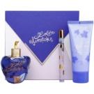 Lolita Lempicka Le Premier Parfum подаръчен комплект II. парфюмна вода 100 ml + парфюмна вода 7 ml + мляко за тяло 100 ml
