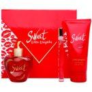 Lolita Lempicka Sweet Geschenkset V. Eau de Parfum 80 ml + Eau de Parfum 7 ml + Körperlotion 100 ml