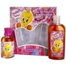 Looney Tunes Tweet Tweet Geschenkset I. Eau de Toilette 100 ml + Duschgel 240 ml