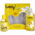 Looney Tunes Tweety! darčeková sada I. toaletná voda 100 ml + sprchový gel 240 ml