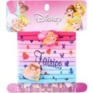 Lora Beauty Disney Princess Hair Elastics In Heart Shape  12 pc