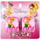 Lora Beauty Disney TinkerBell Hair Clips (Pink) 2 pc