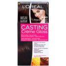 L'Oréal Paris Casting Creme Gloss barva za lase odtenek 400 Dark Brown