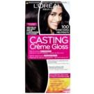 L'Oréal Paris Casting Creme Gloss barva za lase odtenek 100 Deep Black