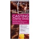 L'Oréal Paris Casting Creme Gloss barva za lase odtenek 603 Chocolate Caramel