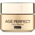 L'Oréal Paris Age Perfect Cell Renew нічний крем для відновлення клітин шкіри 50 мл