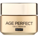 L'Oréal Paris Age Perfect Cell Renew нощен крем  за подновяване на кожните клетки  50 мл.