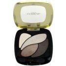 L'Oréal Paris Color Riche oční stíny odstín E4 Marron Glacé  2,5 g