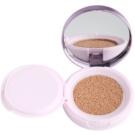 L'Oréal Paris Nude Magique Cushion rozjasňující tekutý make-up v houbičce odstín 01 Porcelain (SPF 29) 14,6 g