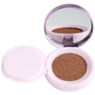 L'Oréal Paris Nude Magique Cushion maquillaje iluminador líquido en esponja tono 06 Rose Beige (SPF 29) 14,6 g