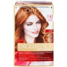 L'Oréal Paris Excellence Creme Haarfarbe Farbton 7,43 Blonde Copper