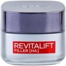 L'Oréal Paris Revitalift Filler crema de día antiarrugas con efecto relleno   antienvejecimiento 50 ml